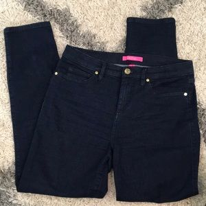 Lilly Pulitzer High Rise Jeans 10